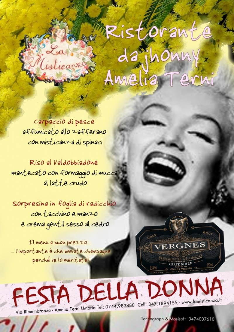 Locandine la misticanza ristorante amelia Umbria