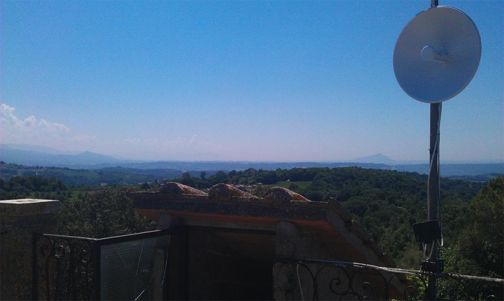 Connessione internet wifi - Amelia Terni Umbria - Vista valle del Tevere-Sabina, Viterbo Lazio