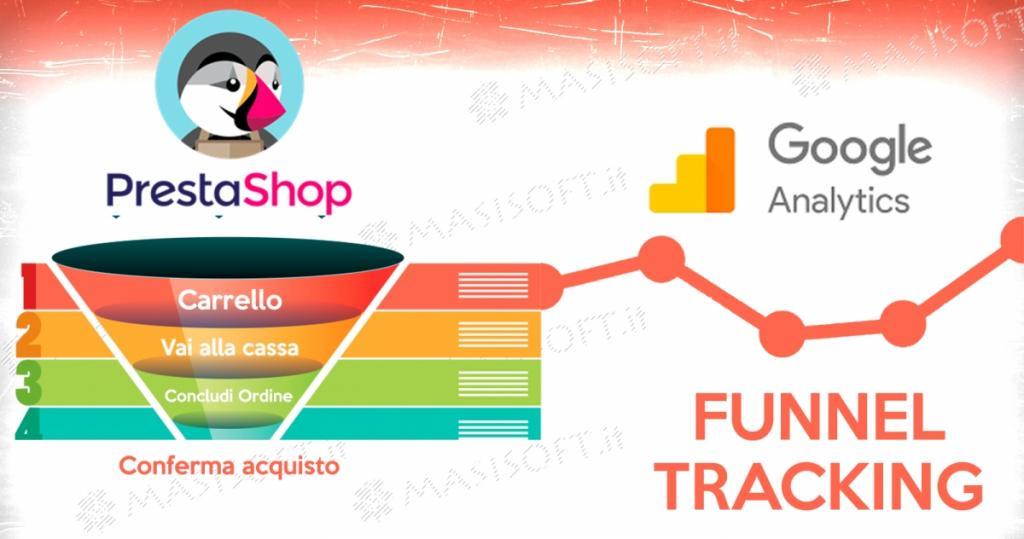 Guida per tracciare il percorso pagamento di Prestashop con Google Analytics