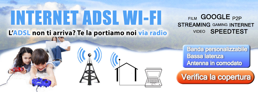 Internet Adsl Wi-Fi