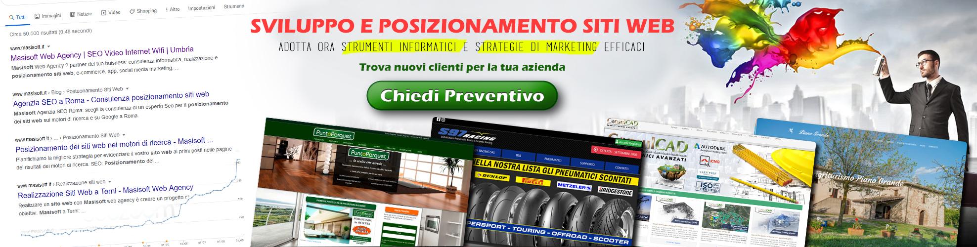 Masisoft ad Amelia Terni - Realizzazione siti internet per aziende e Pubblica Amministrazione -