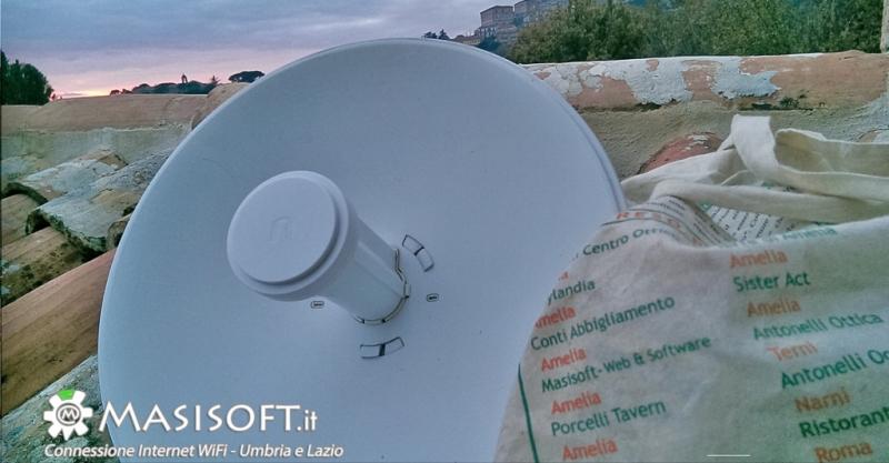 Naviga alla velocità dell'ADSL con la connessione internet tramite antenna radio