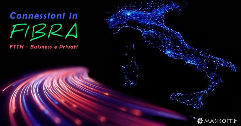 Connessioni in Fibra Ottica FTTC e FTTH - Verifica la copertura in tutta Italia
