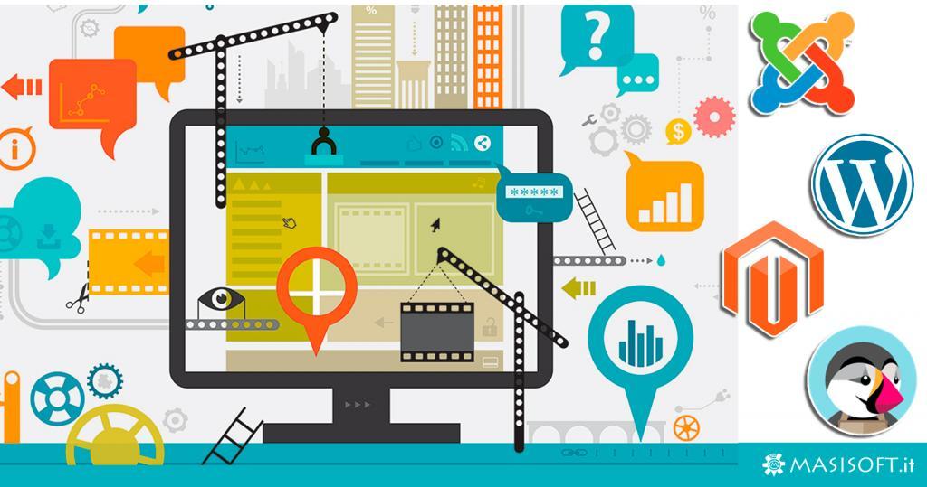 Cosa sono i CMS: piattaforme di gestione dei contenuti e sviluppo siti internet