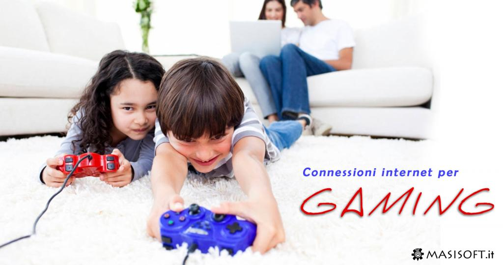 Connessione internet WIFI gaming online multiplayer