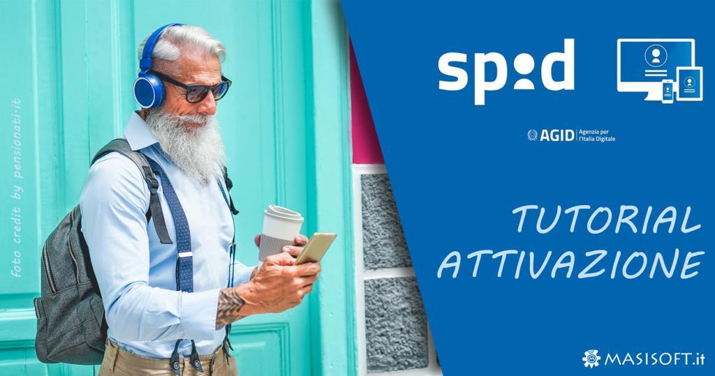 Guida attivazione SPID online - crediti immagini pensionati.cna.it - spid.gov.it