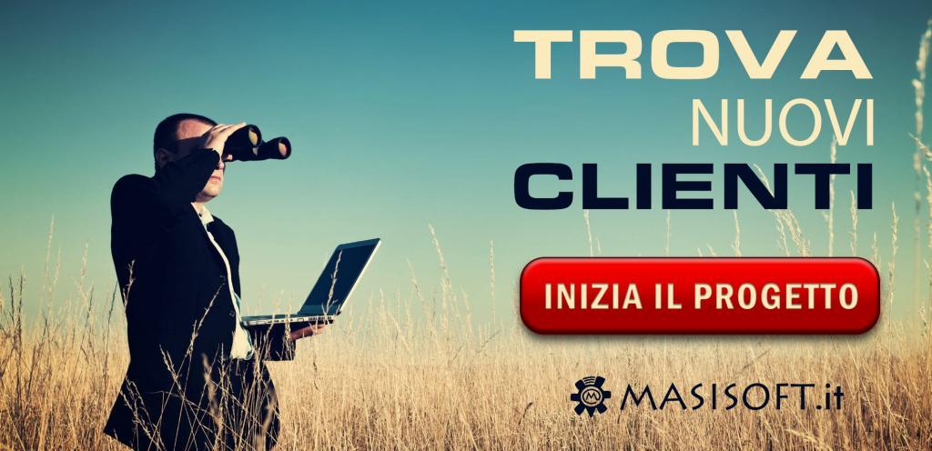Inizia il progetto con Masisoft per trovare nuovi clienti
