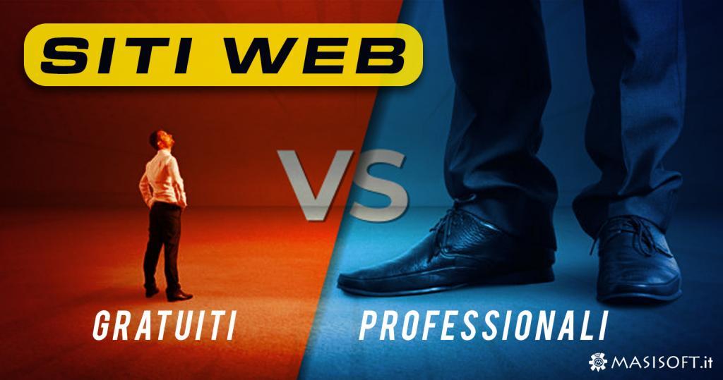 E' meglio un sito web gratuito o professionale a pagamento